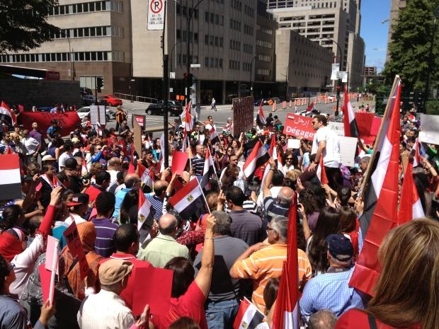 Montreal egypt demo