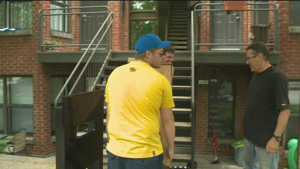 CTV Montreal: Moving Day mayhem