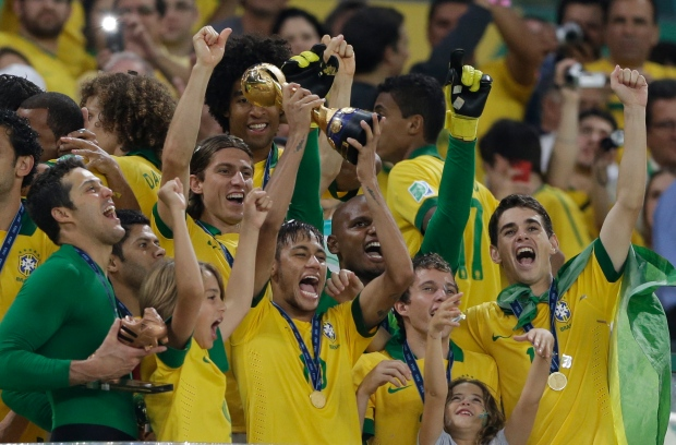 Brazil wins Confederations Cup soccer final