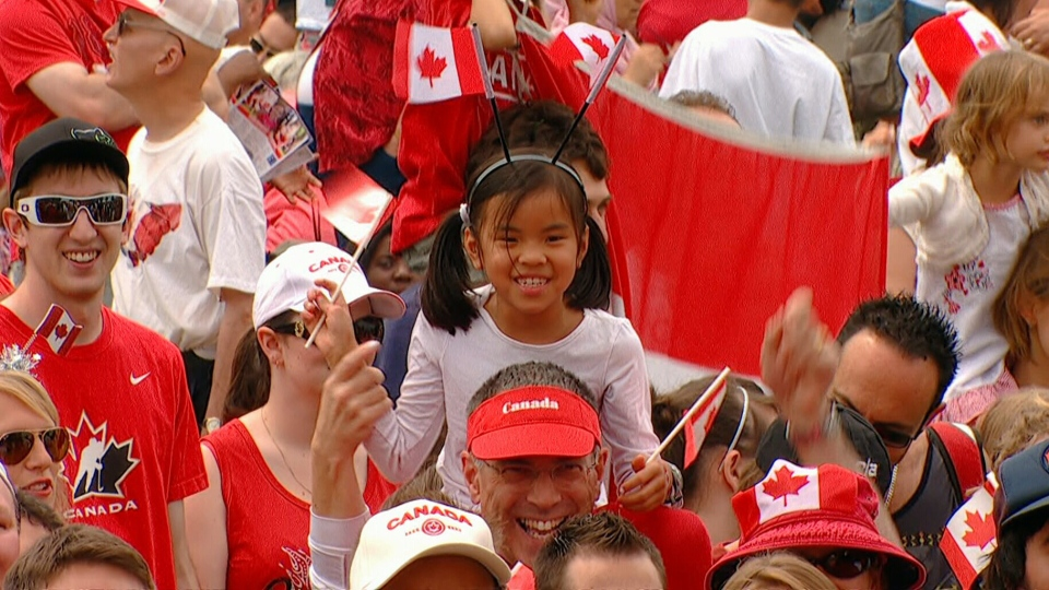 Image result for happy canadians pictures