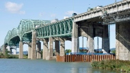 Champlain Bridge in a CP file photo