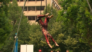 CTV National News: The risks acrobats take