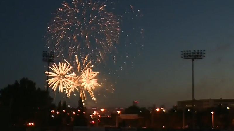 Canada Day fireworks Edmonton