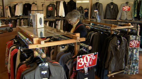Current Fashions, a Vancouver chain with 10 stores, is closing after 24 years. April 18, 2011. (CTV)