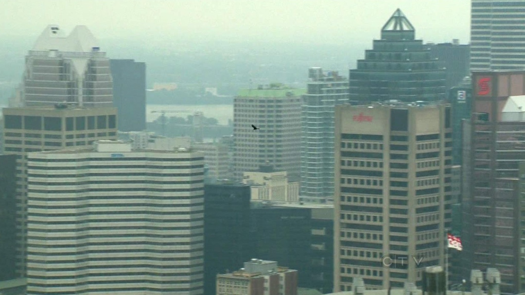 CTV Montreal: Smog warning over Quebec
