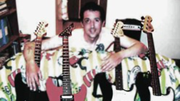 John Nuttall, who was born in 1974, is seen in this undated image. (www.reverbnation.com)