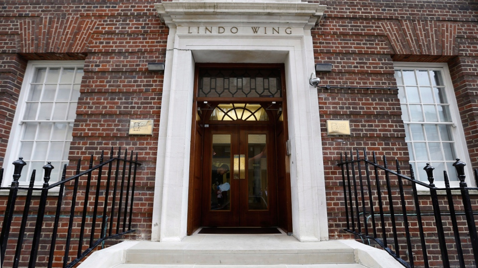Kate, Duchess of Cambridge, will be delivering her baby in the private Lindo Wing of St Mary's Hospital, in London in July. (AP / Kirsty Wigglesworth)