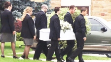 Funeral for boy who died in hot car