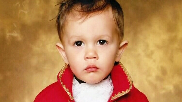 Two-year-old Maximus Huyskens is seen in this undated image in this image provided to CTV News.