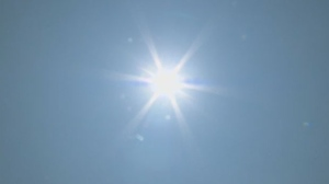 A heat warning remains in effect for the capital on Tuesday.