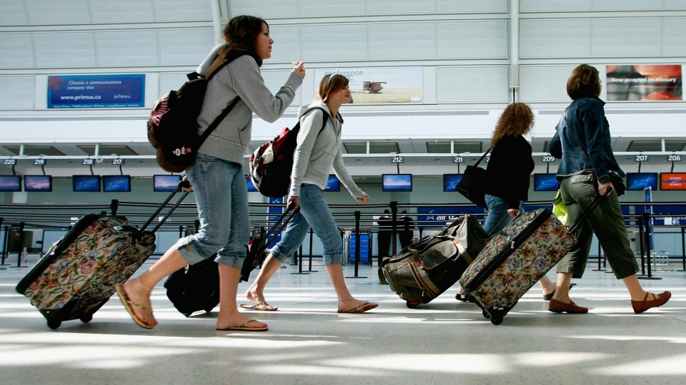 Travel tips Toronto carry on Pearson