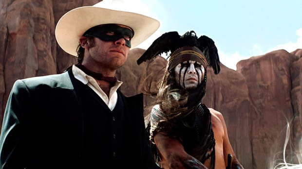 'The Lone Ranger' is a runaway train | Film and movie ...
