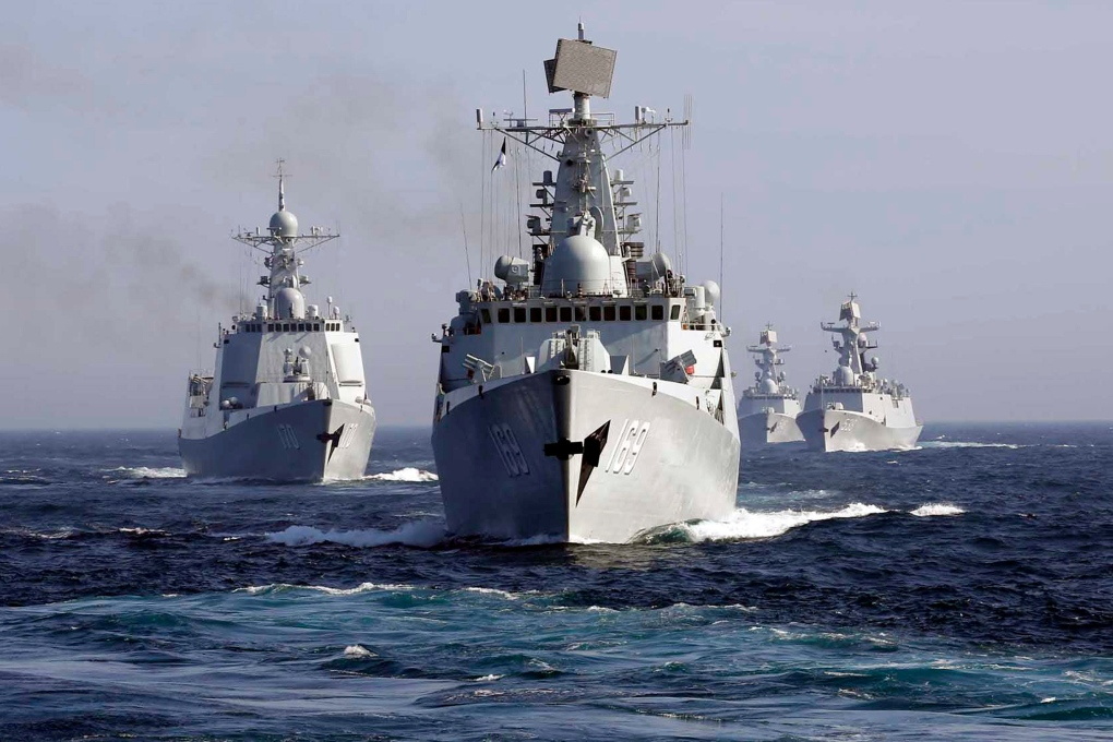 China Russia Sea of Japan exercise