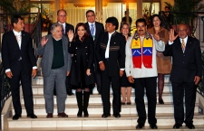 South American leaders support Evo Morales