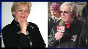 Donna Lee and Bill Powers (photos courtesy: Facebook and NewsTalk770)