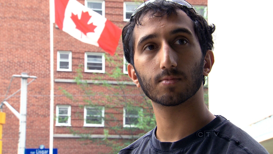 Deepan Budlakoti, 23, is facing deportation to India by the Canadian government.