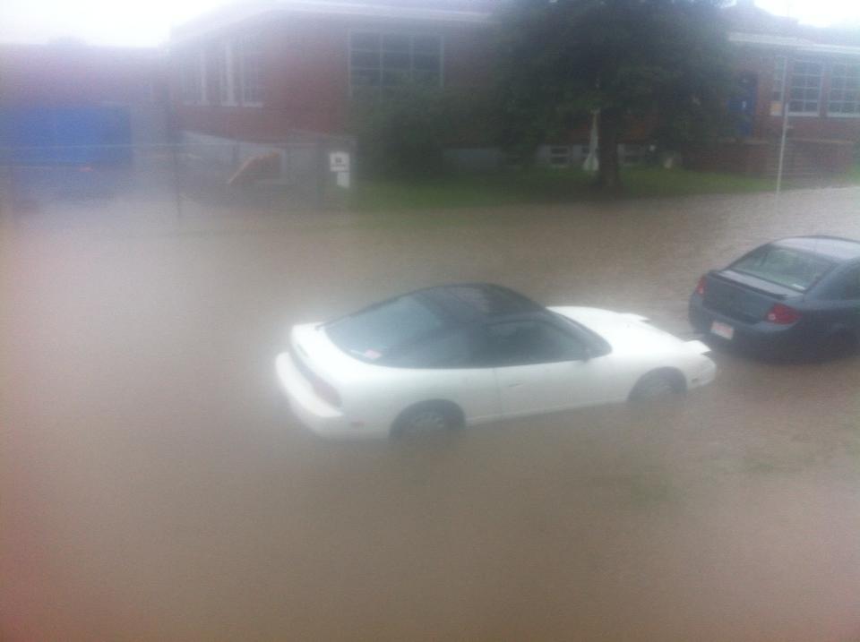 Calgary heavy rain