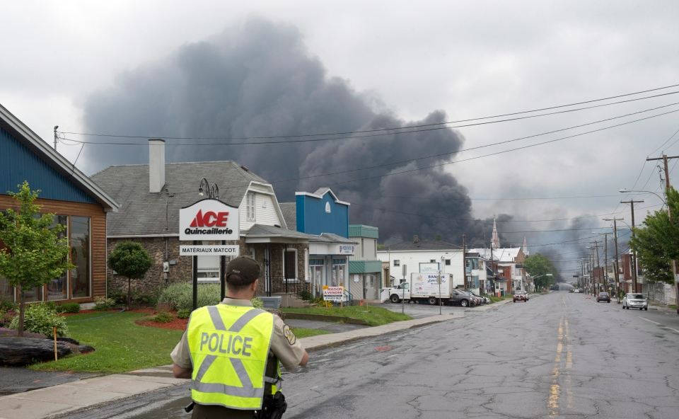 Lac Megantic fire