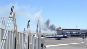 Plane crash at SFO airport