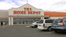 Home Depot is banning all pets from its Canadian stores beginning, Monday, May 16, 2011.