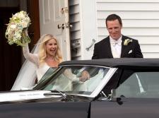 Dion Phaneuf,  Elisha Cuthbert wedding