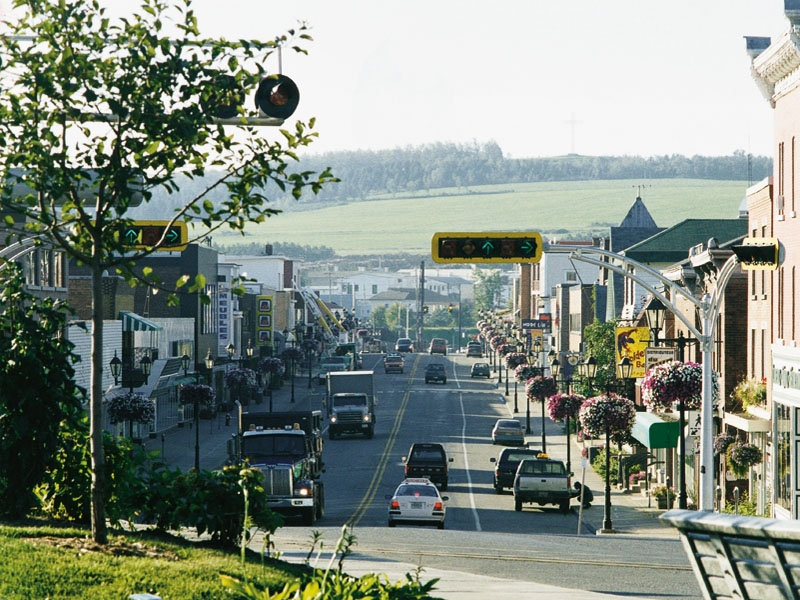 A throroughfare in Lac Megantic is seen in this photo posted on the Tourisme Megantic website.