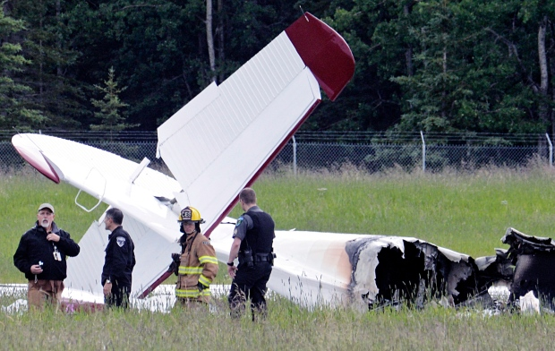 Alaska airport plane crash