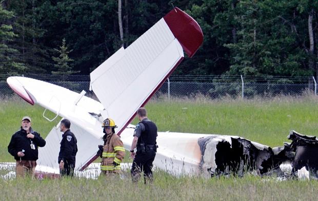 Alaska airport plane crash