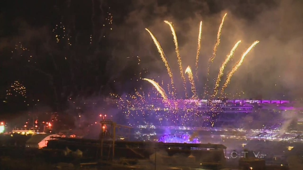 Extended: Fireworks light up the Stampede sky