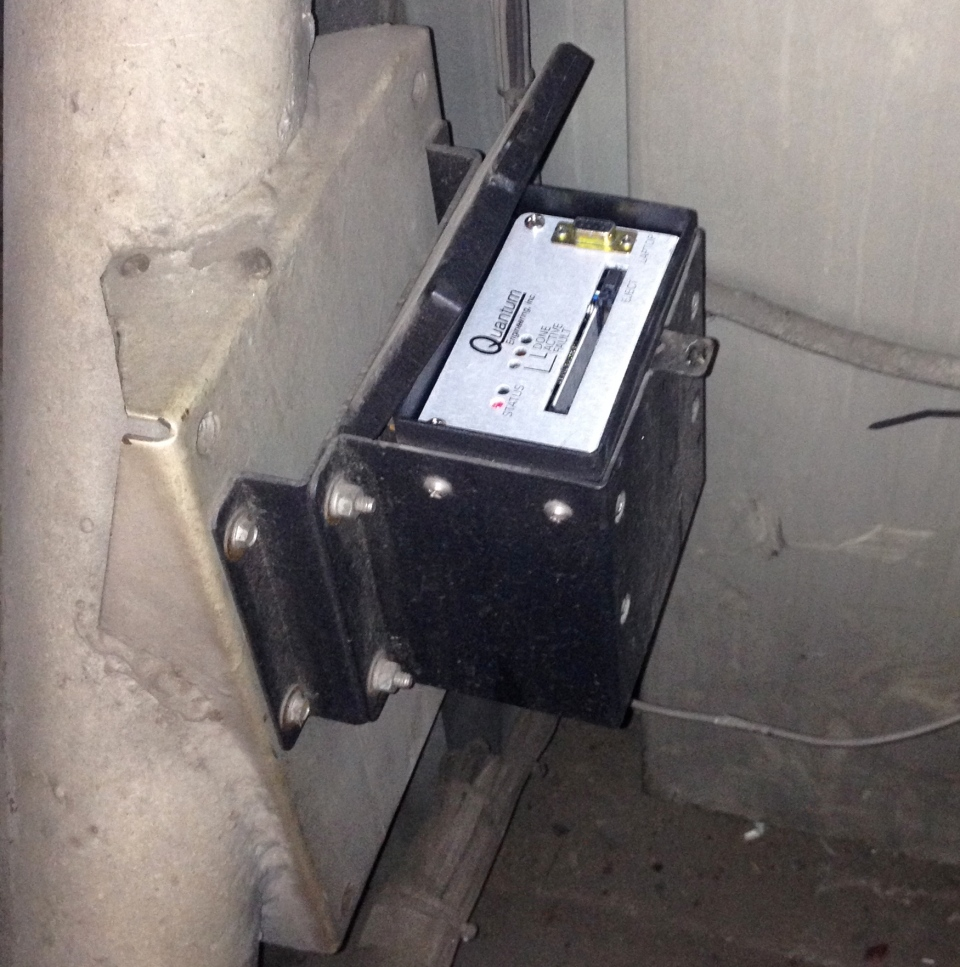 The locomotive event recorder from the train that derailed and caused explosions in Lac-Megantic, Que.,  Sunday, July 7, 2013. (Transportation Safety Board of Canada / Flickr)