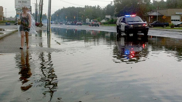 Flash Flooding In Angus Ctv News Barrie