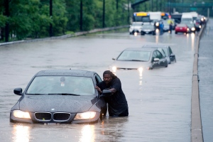 Toronto traffic chaos following flood