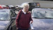A 77-year-old woman from Victoria, B.C. has venting her frustration at parking offenders by dishing out her own tickets. April 22, 2011. (CTV)