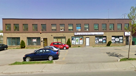 This office on Henri Bourassa is of several Berger Blanc facilities around Montreal. (April 22, 2011)
