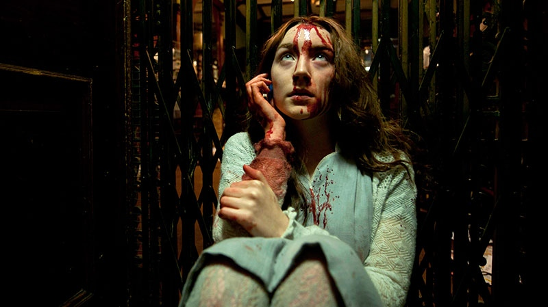 Saoirse Ronan in a scene from Mongrel Media's 'Byzantium'