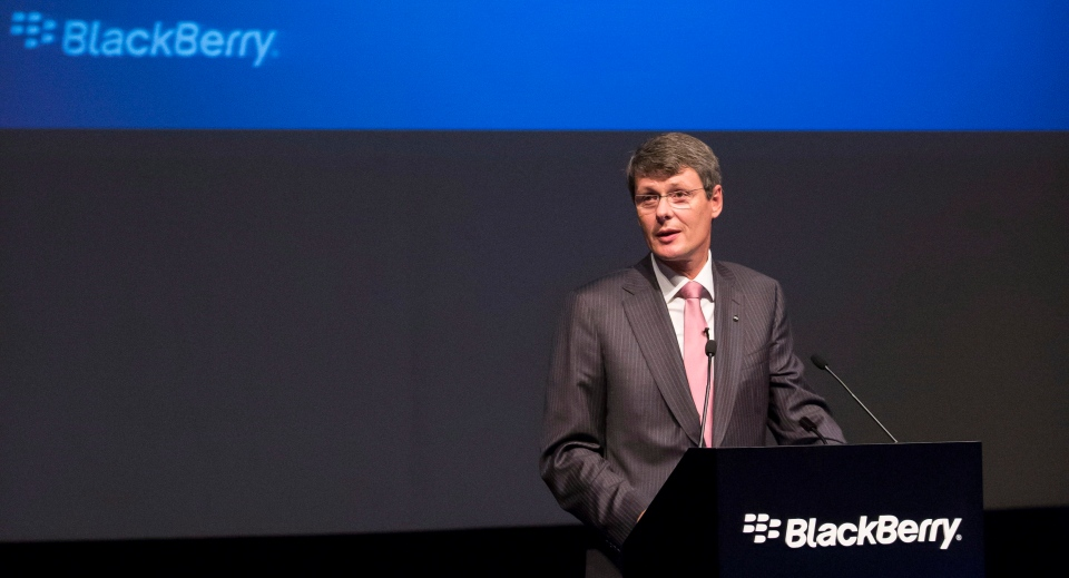 BlackBerry CEO asks for patience, says turnaround in stage ...