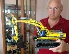 """Lego fanatic"" John St-Onge"