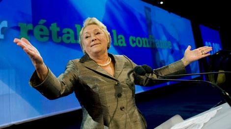 Parti Quebecois leader Pauline Marois (THE CANADIAN PRESS/Graham Hughes)