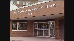 The London Jewish Community Centre is seen on Tuesday, July 9, 2013.