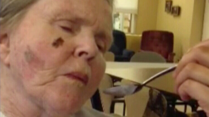 Margot Bentley's family says she wouldn't want to continue being fed at the Maplewood Seniors Care Society where she's currently living. July 9, 2013. (CTV)