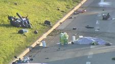 Fatal crash on Memorial Drive