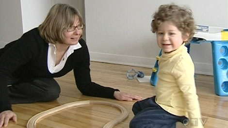 Students learn how to function in a hearing world at the Montreal Oral School for the Deaf.