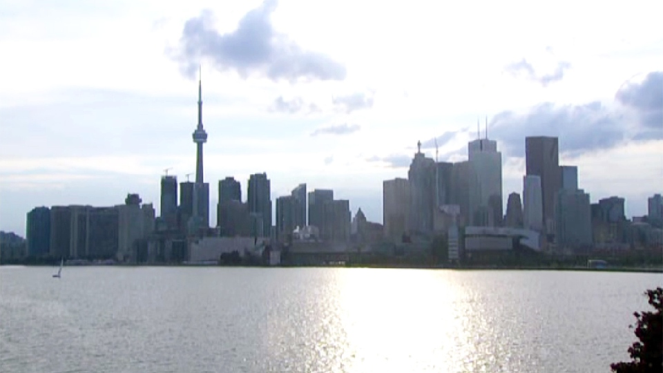 A severe thunderstorm watch issued for the city of Toronto by Environment Canada, ended just after 7 p.m. on Wednesday, July 10, 2013.
