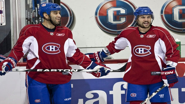 Scott Gomez and Brian Gionta will need to elevate their games to allow the Canadiens to extend the series to seven games. FILE PHOTO/THE CANADIAN PRESS/Paul Chiasson