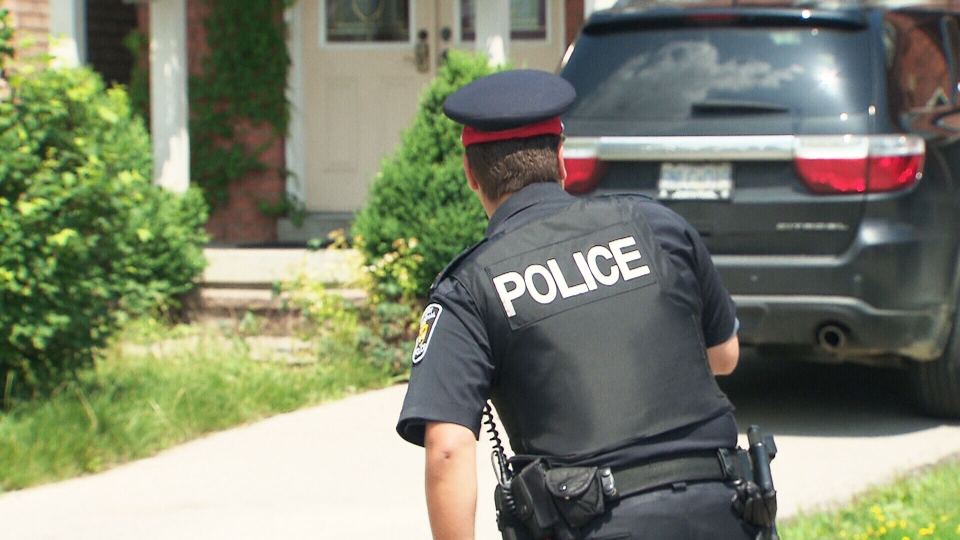Police investigate the death of a child at this unlicensed  daycare  in Vaughan, Ont., on Thursday, July 11, 2013.