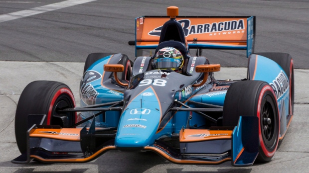 Dixon captures pole at 2nd Indy event