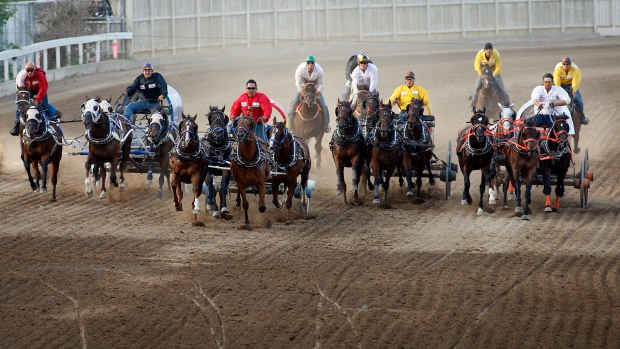 Chuckwagon Racer In Saskatchewan Sues Husky Oil Over Death