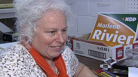 Ottawa West-Nepean NDP candidate Marlene Rivier is running for federal office for the fifth time.