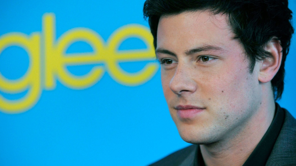 "In this April 12, 2010 file photo, Cory Monteith arrives at the ""Glee"" Spring Premiere Soiree in Los Angeles.(AP / Chris Pizzello, File)"