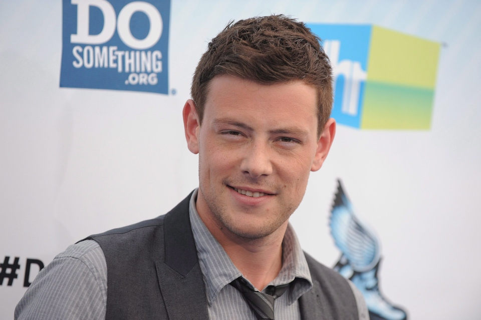Cory Monteith attends the 2012 Do Something awards in Santa Monica, Calif., on Aug. 19, 2012. (Jordan Strauss / Invision)